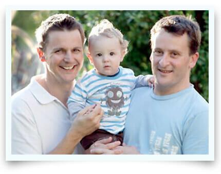 Gay Surrogacy Family