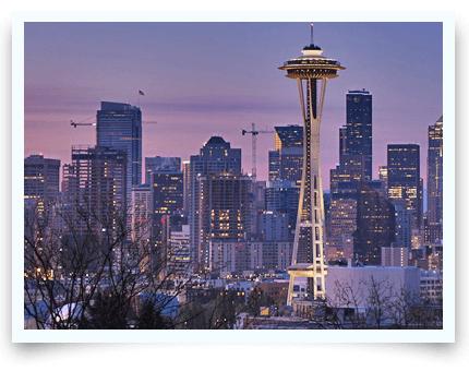 Surrogacy Washington skyline