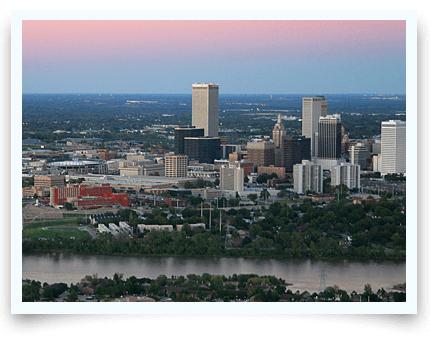 Surrogacy in Tulsa skyline